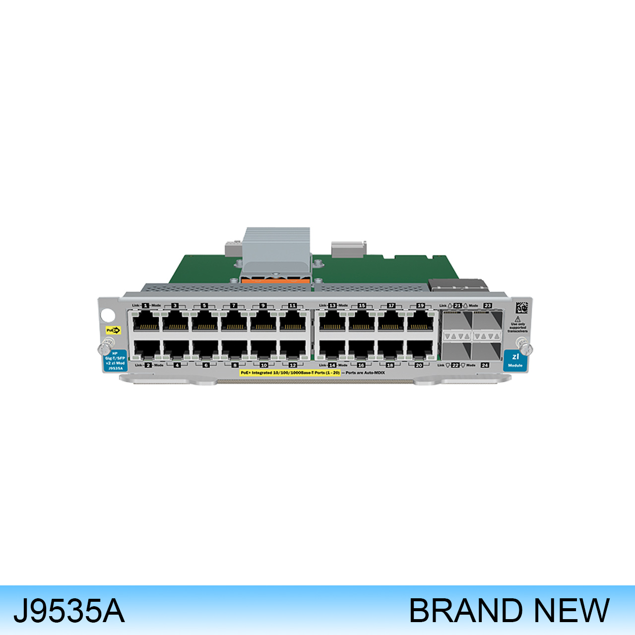 J9535A | HP PROCURVE MODULE EXPANSION 20 X 1000 BASE