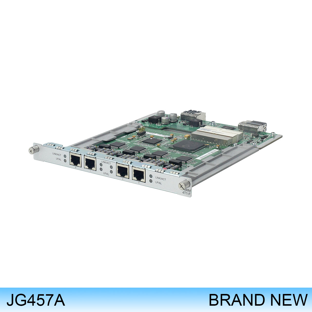 JG457A | HP MSR 4-Port T1/Fractional T1 HMIM Module - For Data Networking - 4 x T1/FT1